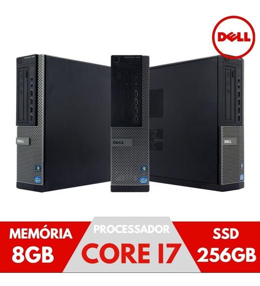 Pc Dell Intel Core I7 8gb 256gb Windows Super Desempenho