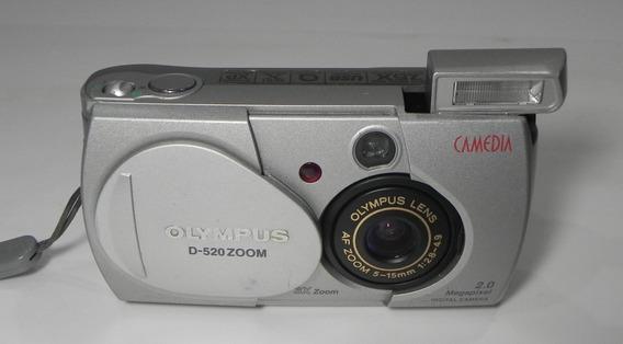 Máquina Fotográfica Olympus D-520 Retirada De Peças
