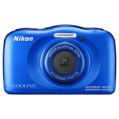 Nikon Coolpix W100 Á Prova D´gua, Choque E Poeira Com Nf-e