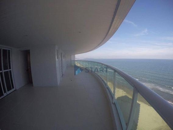 03 Dormitórios Sendo 03 Suítes E 03 Vagas, Frente Mar, Vila Caiçara, Praia Grande/sp - Ap5466