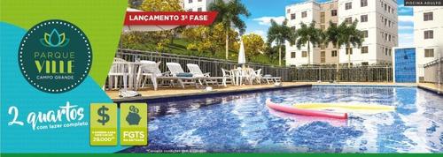 Imagem 1 de 15 de Apartamento Para Venda Em Rio De Janeiro, Campo Grande, 2 Dormitórios, 1 Banheiro, 1 Vaga - Pv230_2-831010