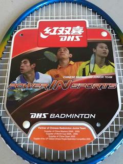 Raquete Badminton/ Conjunto 2 Peças
