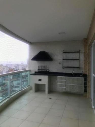 Apartamento Com 3 Dormitórios À Venda, 118 M² Por R$ 1.270.000,00 - Boqueirão - Santos/sp - Ap1521