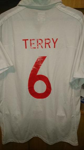 Camiseta Umbro Seleccion Inglaterra! #6 Terry.