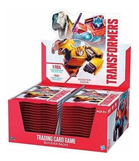 Transformers Tcg Booster Box | 30 Paquetes De Booster | 8 Tr