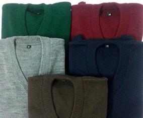 Sweater Colegial De Dralon Varios Colores Talles 6 Al 16