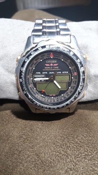 Relógio Citizen C080, Em Ótimo Estado, Para Colecionador