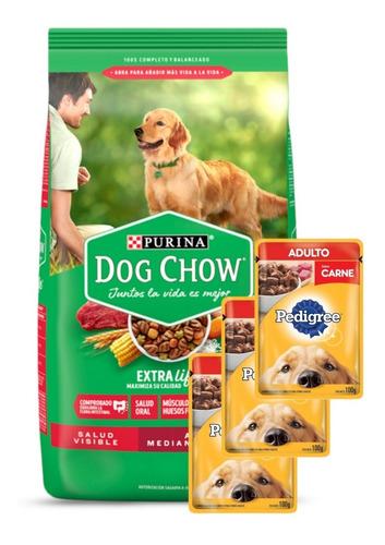 Dog Chow Adulto 21 Kg + Promo -ver Foto- + Envío Todo Uy!
