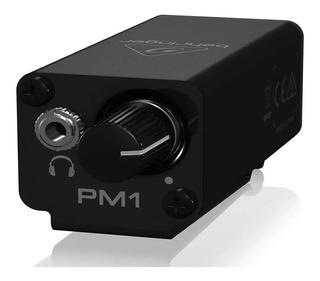 Amplificador De Auriculares Behringer Powerplay Pm1 P