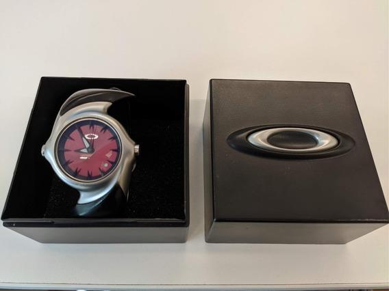 Relógio Oakley Crush 2.0 Red - Pouco Uso E Na Caixa!
