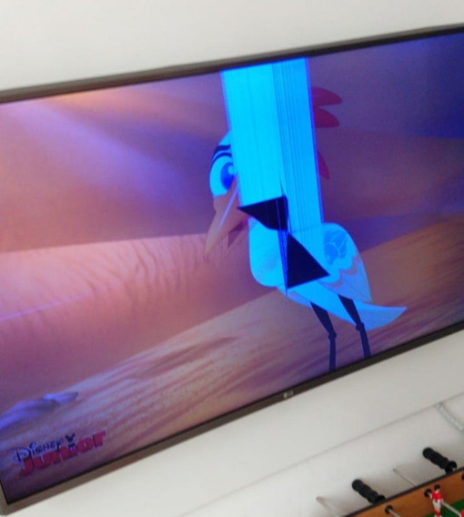 Smart Tv Lg 43 Uj6525 Ultra Hd 4k - Tela Quebrada
