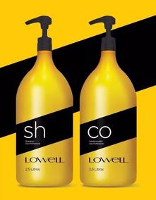 Kit Lowell Lavatório Profissional Shampoo 2,5l E Condic 2,5l