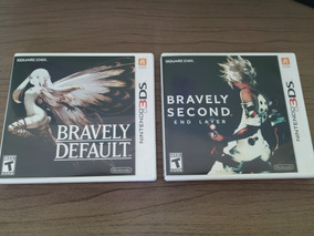 Bravely Default E Bravely Second End Layer 3ds