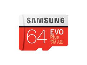 Cartão Samsung Micro Sd Evo Plus 64gb 100mb/s Gopro Hero 4 5