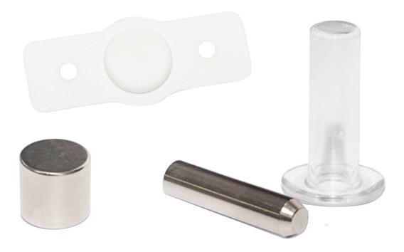Trava Porta Invisível Pino Magnético Automático Comfortdoor