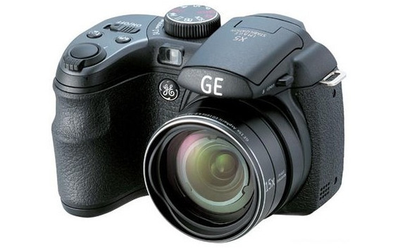 Câmera Digital Semi Profissional Ge X5 (preta)
