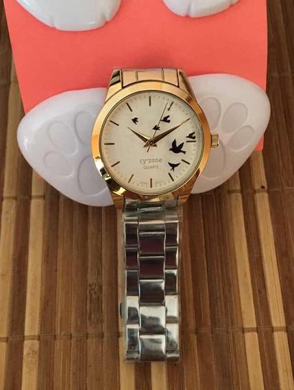 Reloj Pulsera Con Aves