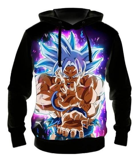 Blusa Moletom Goku Ultra Instinto Dominado 05 Casaco Frio
