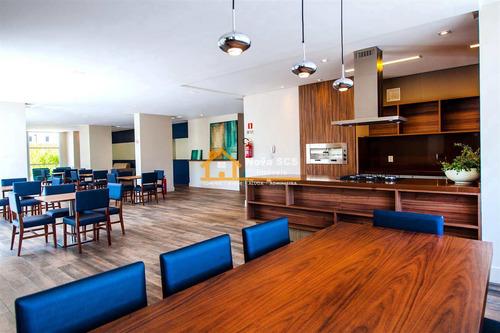 Imagem 1 de 10 de Apartamento Com 2 Dorms, Jardim São Caetano, São Caetano Do Sul - R$ 662 Mil, Cod: 489 - V489