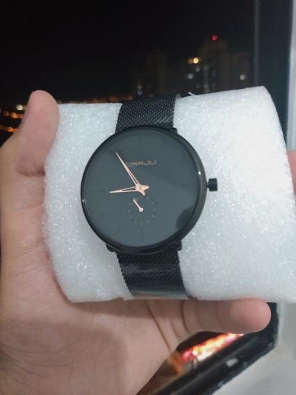 Relógio Crrju Original Minimalista