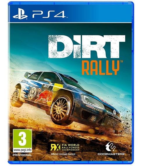 Dirt Rally - Ps4 Psn Cod 1 Env Já