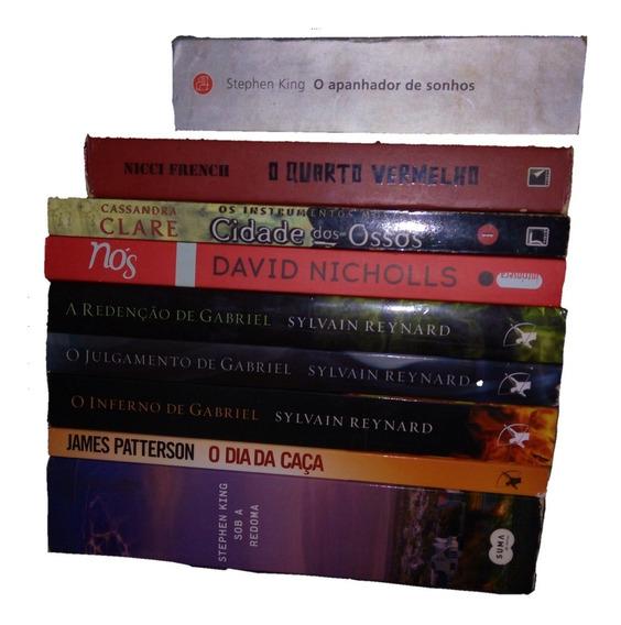 9 Livros Por 274,90 - Romance A Ficção Científica - Frete Gr