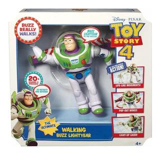 Toy Story 4 Buzz Lightyear 40 Frases Y Sonidos Camina