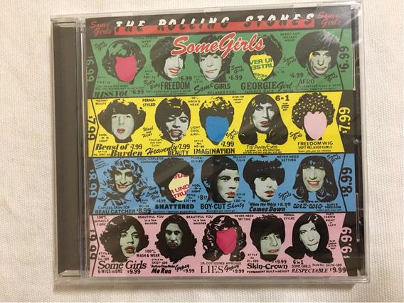 Cd The Rolling Stones Some Girls Novo Lacrado Caixa Acrílica