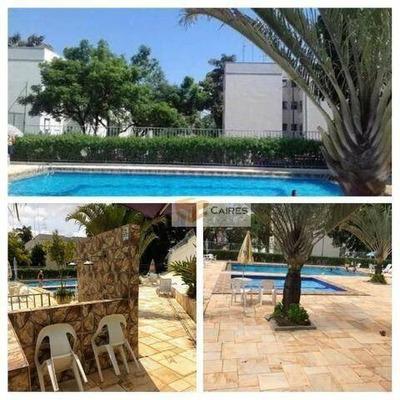 Apartamento Com 2 Dormitórios À Venda, 55 M² Por R$ 190.000 - Jardim Miranda - Campinas/sp - Ap5488