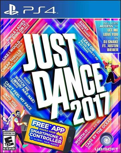 Just Dance 2017 17 Juego Ps4 Original + Garantía + Español