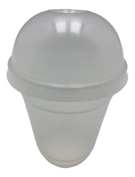 20 Vaso Tapa Domo Cupula 12oz Plastic C/t 2942 6.52 Xaviplas