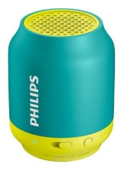 Caixa De Som Philips Bluetooth 2w Rms Bt50gx/78
