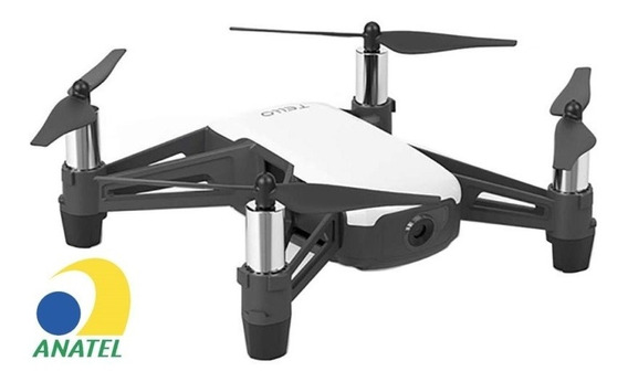 Drone Tello Boost Combo Powered By Dji - Anatel Branco
