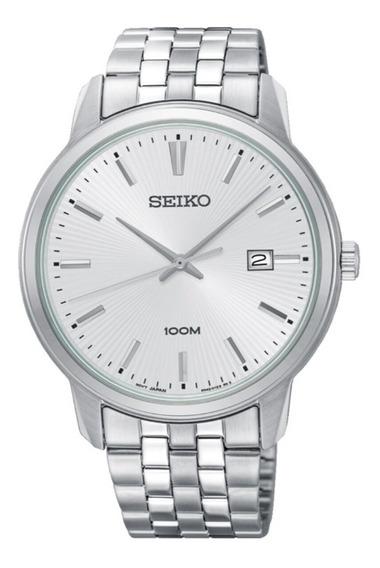 Reloj Seiko Neo Classic Sur257p1 Hombre Blanco