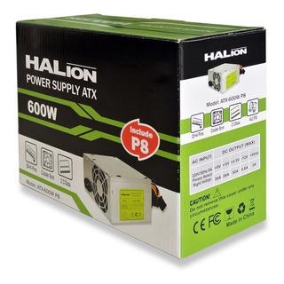 Halion - Fuente De Poder Atx 600w