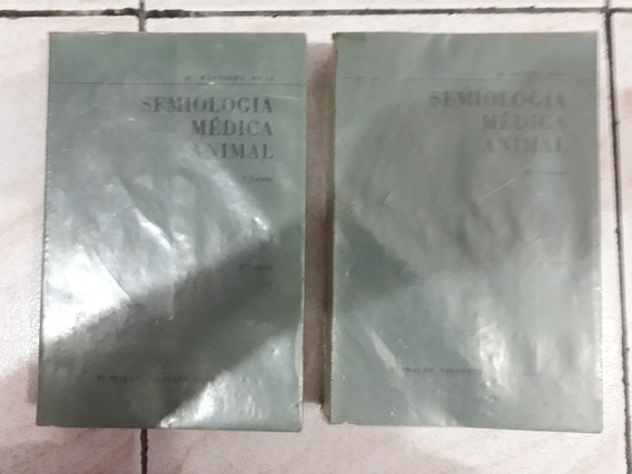 Semiologia Medica Animal 2 Volumes M. Batista Braz