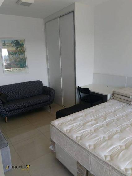 Studio Com 1 Dormitório Para Alugar, 35 M² Por R$ 2.650,00/mês - Campo Belo - São Paulo/sp - St0004