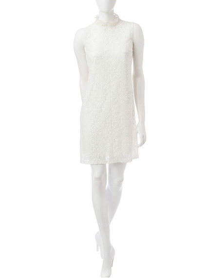 Vestido Coctail Ivory Dama Marca Ronni Nicole Strech T 12/c5