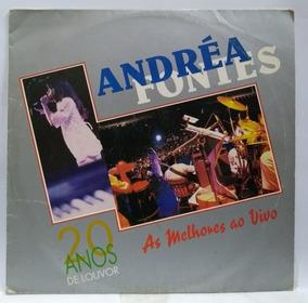 Lp Disco Vinil Andréa Fontes 20 Anos De Louvor Ao Vivo 1995