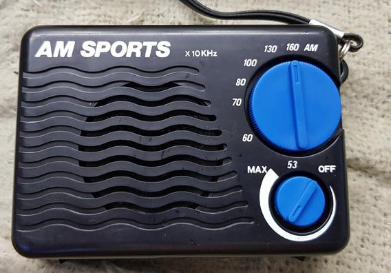 Radio Am Sport Radio Portatil Sport Raridade