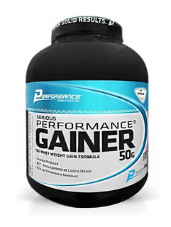 Hipercalórico Serious Performance Gainer (3kg) - Performance