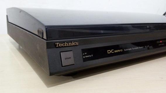 Toca Disco Technics Sl L20 Tangencial Ok! Assista O Vídeo