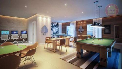 Apartamento À Venda, 136 M² Por R$ 734.816,00 - Canto Do Forte - Praia Grande/sp - Ap5137