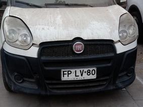 Furgon Fiat Doblo Maxi Cargo Año 2013 Color Blanco Sin Motor