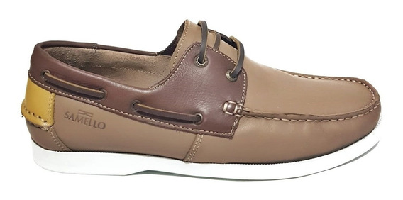 Sapato Samello Masculino Dockside Loop Couro Exclusivo