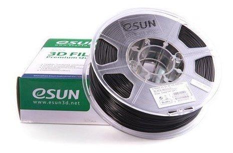 Filamento Esun Pla+ Preto 1.75mm 1kg