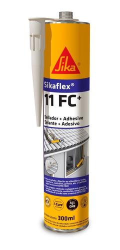 Imagen 1 de 9 de Sikaflex 11 Fc+ Adhesivo Y Sellador Elástico Gris 300ml