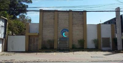 Salão Comercial Para Locação Em Localização Privilegiada, Centro, São José Dos Campos. - Sl0177