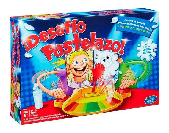 Juego Familiar Pastelazo Versión Desafío Hasbro Gaming