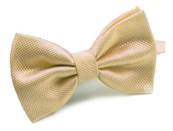 Corbata De Moño Clasico Para Hombre Grin Accs Dorado Claro